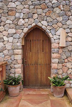 Mallorca~Door at restaurant photo by ottho.rm, via Flickr   ..rh