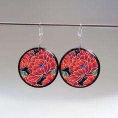 Japan garden - earrings
