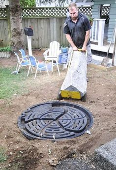 How to install Your Own Backyard Water Feature install in Under 3 Hours how to install your own water feature, how to, outdoor living, ponds water features Diy Water Feature, Backyard Water Feature, Ponds Backyard, Backyard Waterfalls, Garden Ponds, Koi Ponds, Backyard Privacy, Small Water Features, Outdoor Water Features