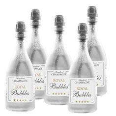 24 Stk Seifenblasen Champagner Flasche Wedding Bubbles Seifenblasenflaschen…