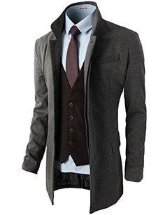 H2H Mens Hidden Buttons Slim Fit Blazer Half Jacket With Pockets GRAY US L/Asia XL (KMOBL075) H2H http://www.amazon.com/dp/B00MP2EG92/ref=cm_sw_r_pi_dp_hx7Mub1025B9Y
