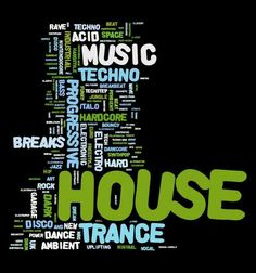 House, Ambient, Minimal, Trance, Progressive House, Techno, Acid House, Breaks, Tech House, Chill Out, Progressive Trance, Hard House, Breakbeat, Dowtempo, Acid Techno, Detroit Techno...