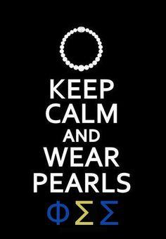 Keep Calm and Phi Sig #phisigmasigma