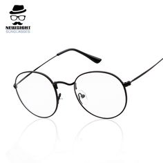 Fashion Eye Glasses Round Boys Eyes Frame Glass Women