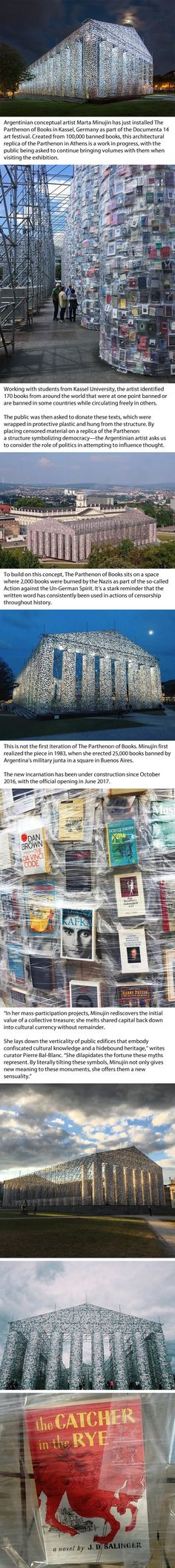 Why Are They Burning Books In South Wales Books Literature And - Artist uses banned books to create monumental sculpture against political oppression