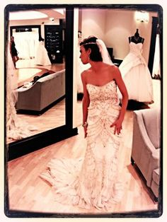 Lazaro 3059 Wedding Dress $3,300
