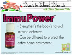 Essential oil / immunity boost / strengthen natural defenses