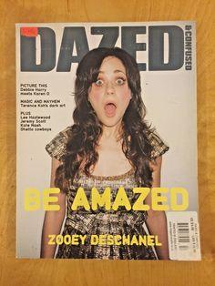 #ad Dazed & Confused Magazine #44 December 2006 Zooey Deschanel Karen O Debbie Harry http://rover.ebay.com/rover/1/711-53200-19255-0/1?ff3=2&toolid=10039&campid=5337950191&item=202280497294&vectorid=229466&lgeo=1