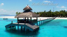 The Maldives - Reethi Beach Resort by D4design Studios. Reethi Beach Resort is a fantastic place. Sandy white beaches, crystal clear water... simply paradise.