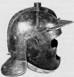 Cavalry helmets from around ad 200, ever wonder were the burgonet came from?