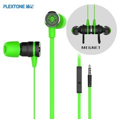 PLEXTONE G20 Professional Gaming In Ear Earphone/Headset with Mic Double Bass Earbud/Earpiece Universal Tuning for PC Laptop Hot