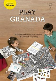 Play Granada Libro Guía para niños Barcelona, Childrens Books, Editorial, City, Granada, Products, Maps, Textbook, Books To Read