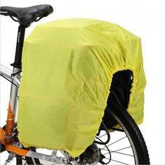 Housse protection pluie pour sacoche vélo triple
