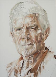 Kees van Kooten, a portrait by Daan van Doorn
