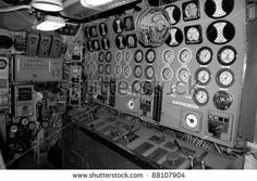 gagues Intrepid Museum, Rustic Birdhouses, Submarines, Control Panel, Bird Houses, Boats, Engine, Ships, Plant