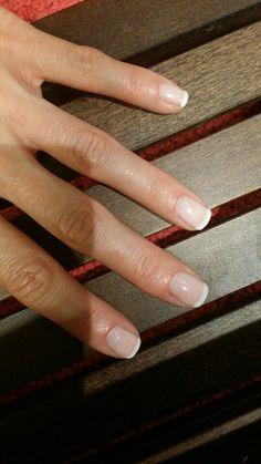 Striplac french manicure mit striplac 37 baby pink und tip whitener