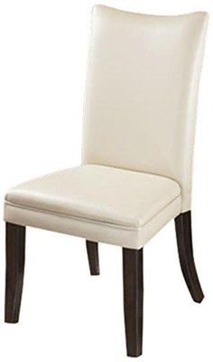 Ashley Furniture Signature Design Charrell Dining UPH Side Chair Ivory Set of 2