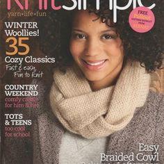 Knit Simple 2010-2011 winter - 编织幸福 - 编织幸福的博客