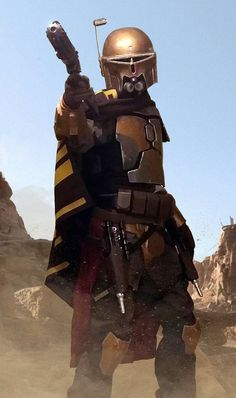 """Ralph Mcquarrie concept armor set /cosplay /costume with mandalorian """"hunter"""" helmet and poncho / cape """"mandalorian outcast"""" by Arkadiusz dydek / Araxuss Yexyr Images Star Wars, Star Wars Characters Pictures, Star Wars Pictures, Bb8 Star Wars, Star Trek, Star Citizen, Super Mario Rpg, Rogue Rpg, Knight Rpg"""