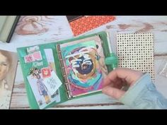 My Wallet / Planner set up. Filofax Vintage pocket planner, for on the go theplannersociety - YouTube