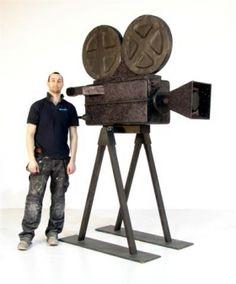 Giant Film Camera
