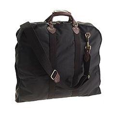 J.Crew Traveler garment bag