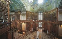 My future house - i'll just recreate the Austrian National Library, fill it with my books, and add comfy chairs and a hot cocoa/tea stand.