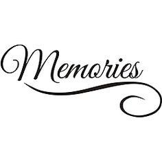 Memories Vinyl Wall Art