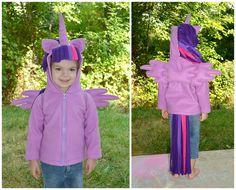 My Little Pony Twilight Unicorn Costume Custom by SugarTartCrafts