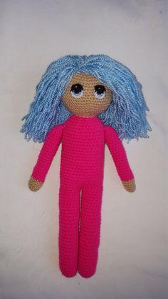 Nana the amigurumi crocheted doll by VenusCrochet on Etsy