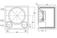 subwoofer box design for 12 inch Diy Speaker Kits, Car Speaker Box, Speaker Plans, Speaker Box Design, Diy Speakers, 15 Inch Subwoofer Box, Subwoofer Box Design, Guitar Cabinet, Cabinet Plans