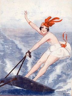 Illustration by Armand Vallee For La Vie Parisienne