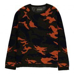 Leon Camouflage Pullover Khaki  Zadig & Voltaire