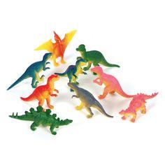 3-inch Dinosaurs (Bulk Pack of 12 Dinos)