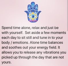 Set aside a few moments each day...