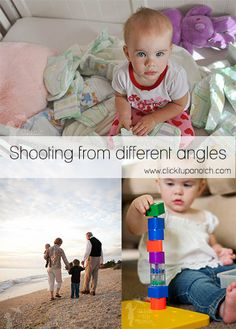 Photography Tips for Pro Photographers | Shooting from different angles