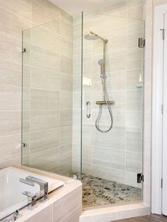 Shower Door Product Info for Hinged Enclosures Condo Remodel, Glass Shower Doors, Bathroom Showers, Bathrooms, Master Bath, Bathtub, Home, Ideas, Chicken