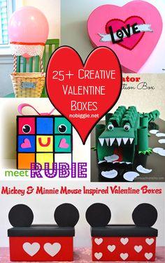 25+ Creative Valentine Boxes | NoBiggie.net