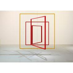 Jose Davila metal frame sculpture