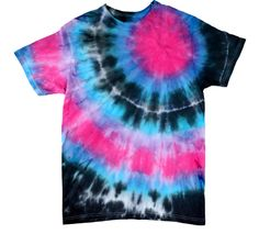 ILovetoCreate Carousel Bullseye Technique T-Shirt #fashion #tiedye #craft