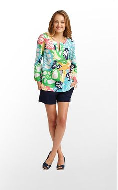 Thandie Tunic in Resort White Chiquita Bonita $138 (w/o 5/12/12) #lillypulitzer #fashion #style