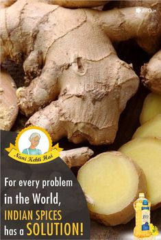 ‪#‎NaniKehtiHai‬ For every problem in the World, Indian Spices has a SOLUTION! Ginger A strong spice, Ginger, helps our body in absorbing required nutrients from the food and liquid that we consume. As per ancient medicinal texts, ginger juice is very effective for digestion. Regular consumption of ginger helps in relieving bloating and smooth bowel movements. Horseradish (Sahjan) One needs to understand that in order to cleanse their body off toxins; they must keep their Liver fit.