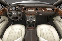 Bentley luxurious car interior