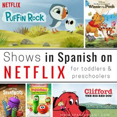 A list of the best Netflix Spanish Shows for Kids. Help your kids learn Spanish through movies, shows, and series for kids on Netflix.