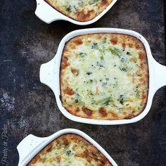 Chicken Broccoli Alfredo Bake #PrettyInPaleo