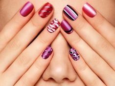 If you just started or want to try to do your own nails, you most probably have everything you need at home. Always use a base and finish with a topcoat this to prevent the nails from discolor. You can use nail art on your own nails, gel and acryl nails.