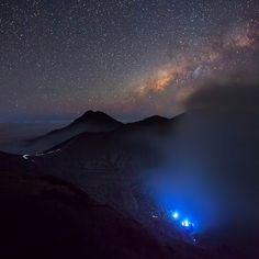 Ijen Crater Blue fire - Indonesia