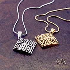 """Pendants """"meander"""" - available for order"""