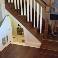 dog room under stair
