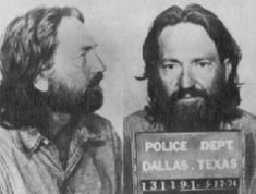 Willie Nelson Arreste in 1974 for marijuana possession
